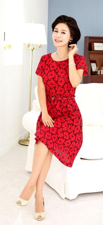 Middle-Agedolder Womens Fashion Clothing Apparel-5318