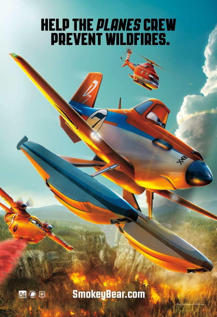 Poster 3: Planes Fire & Rescue