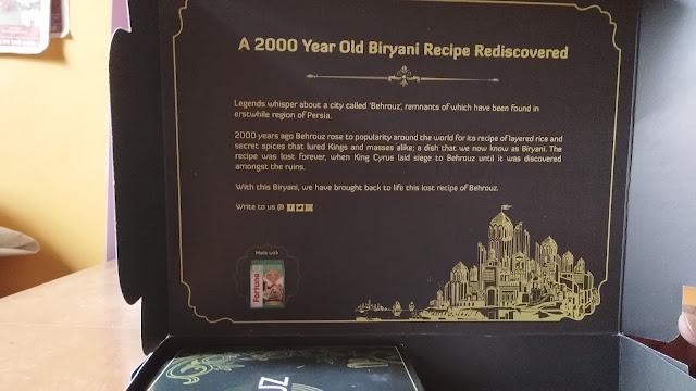 Behrouz Biryani : Bhuna Murg Biryani