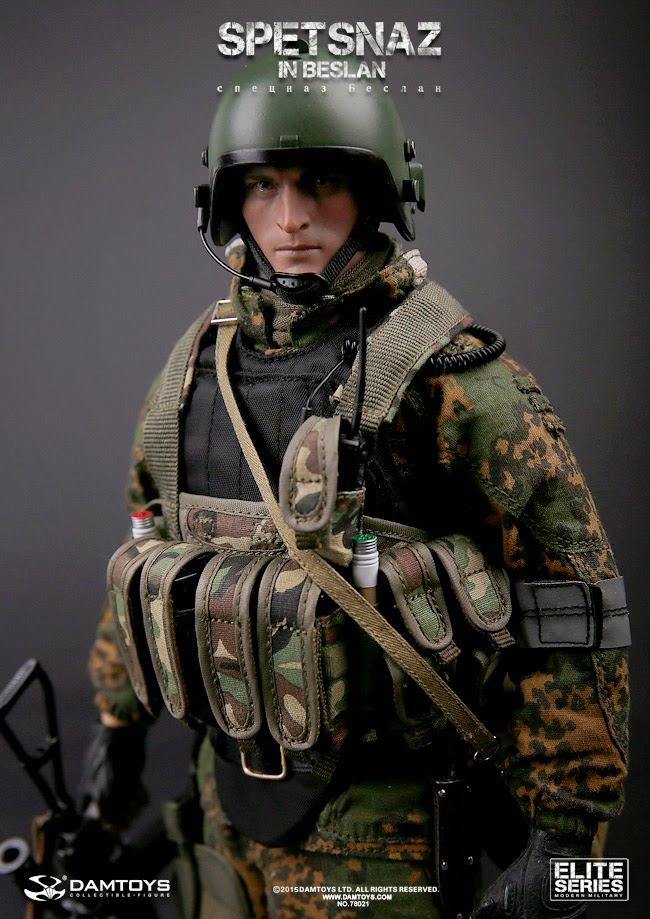 12 Russian Supermodels Who Gained International Success: Toyhaven: Incoming: Dam Toys 1/6th Scale SPETSNAZ In