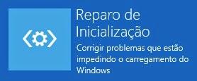 """Ferramenta: """"Reparo de Inicialização"""" do Windows 8 / 8.1"""