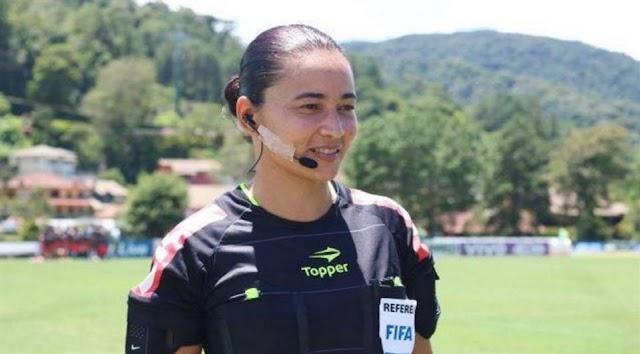 Árbitra de Goioerê vai apitar jogos da Copa do Mundo de Futebol Feminino Sub-20