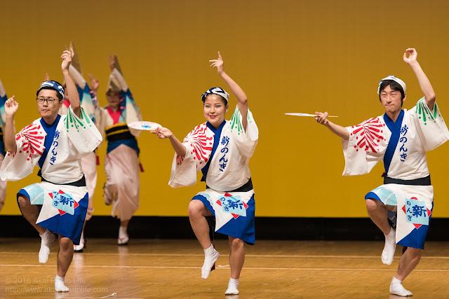 東京新のんき連、セシオン杉並まつりの男踊りの写真 2