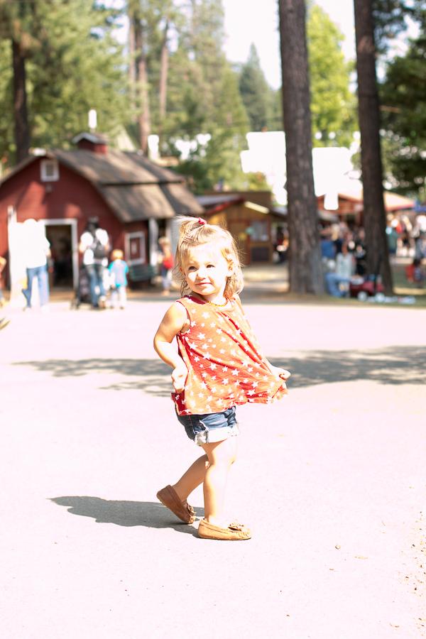 parlor girl at nevada county fair grass valley ca