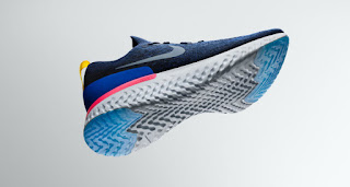 a391a6ac0768 Nike has unveiled their first shoe with an all-foam sole. The sole was made  by a new foam technology called React. The shoe– named Nike Epic React  Flyknit— ...