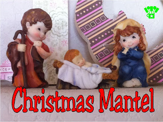 Nativity Scene Christmas Mantel
