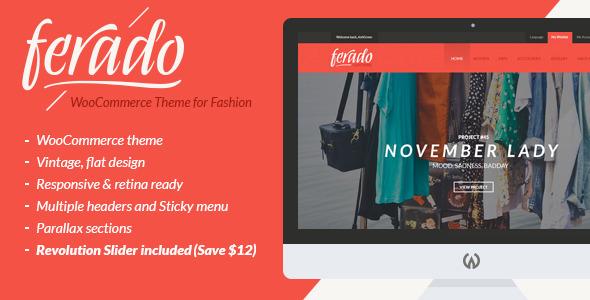 Download Ferado v1.5 WooCommerce Fashion Wordpress Theme