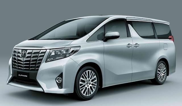 List of Toyota Alphard Types Price List Philippines