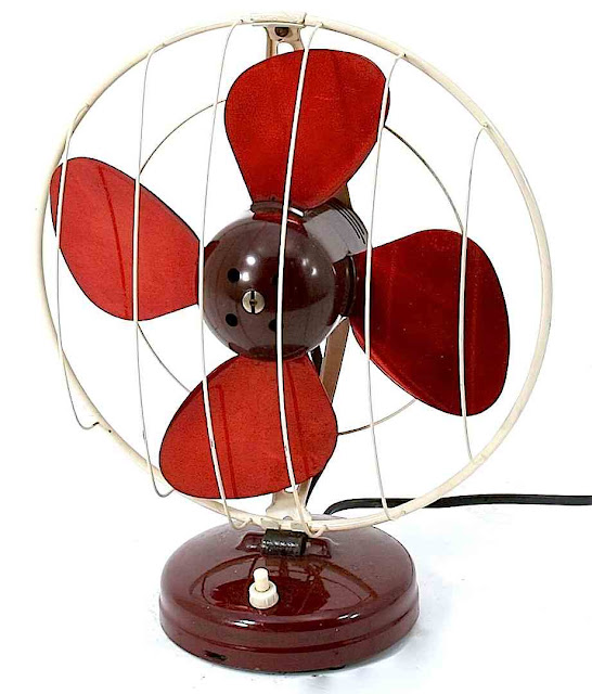 vintage table fan
