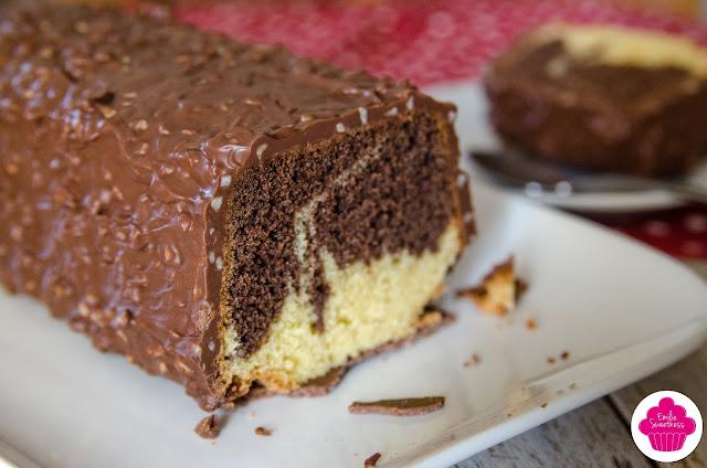 Cake marbré chocolat vanille - recette de Cyril Lignac