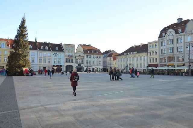 Imagen de la plaza de Bydgoszcz