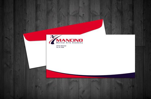 In phong bì công ty đẹp, thiết kế phong bì chuyên nghiệp Mancino