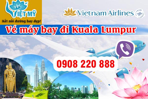 Vé máy bay đi Kuala Lumpur hãng Vietnam Airlines