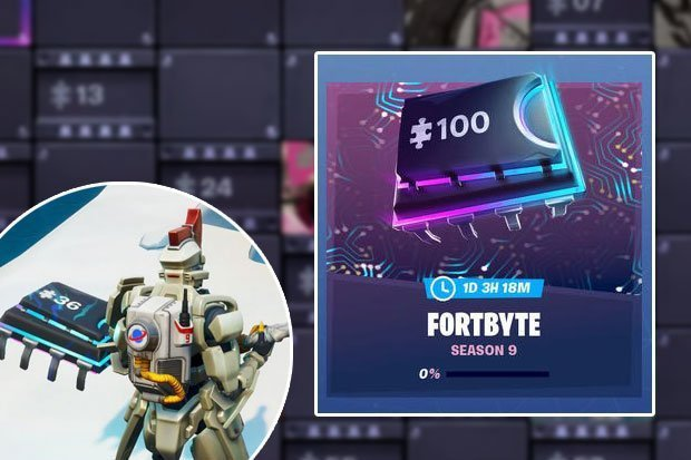 Fortnite Fortbyte 82 includes the NW pressure panel puzzle from The Block
