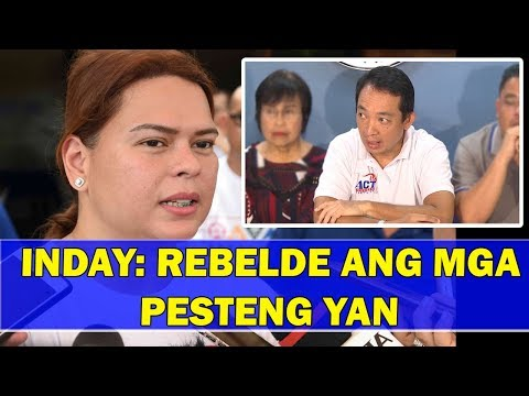WATCH | Mayor inday laban sa ACT Teacher Partylist