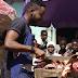 MPNAIJA GIST Photos: Adekunle Gold turns to meat seller
