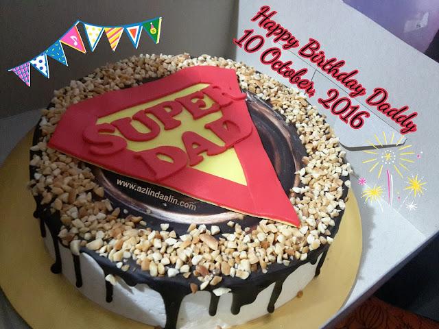 HAPPY BIRTHDAY BUAT SUAMIKU, DADDY KEPADA DHIA BATRISYA DAN DZAL AIDI FIQRY !
