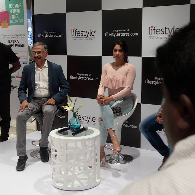 ReginaCassandra at Prozone Mall Coimbatore for LifeStyle store launch