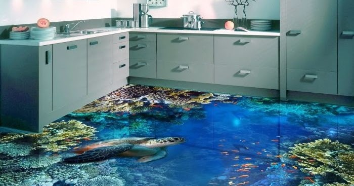 Features Of 3d Floor Art With Epoxy Coating On Flipboard By
