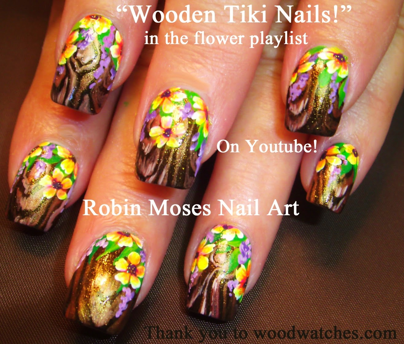 "Robin Moses Nail Art: ""wood nails"" ""wooden nails"" ""nail ..."