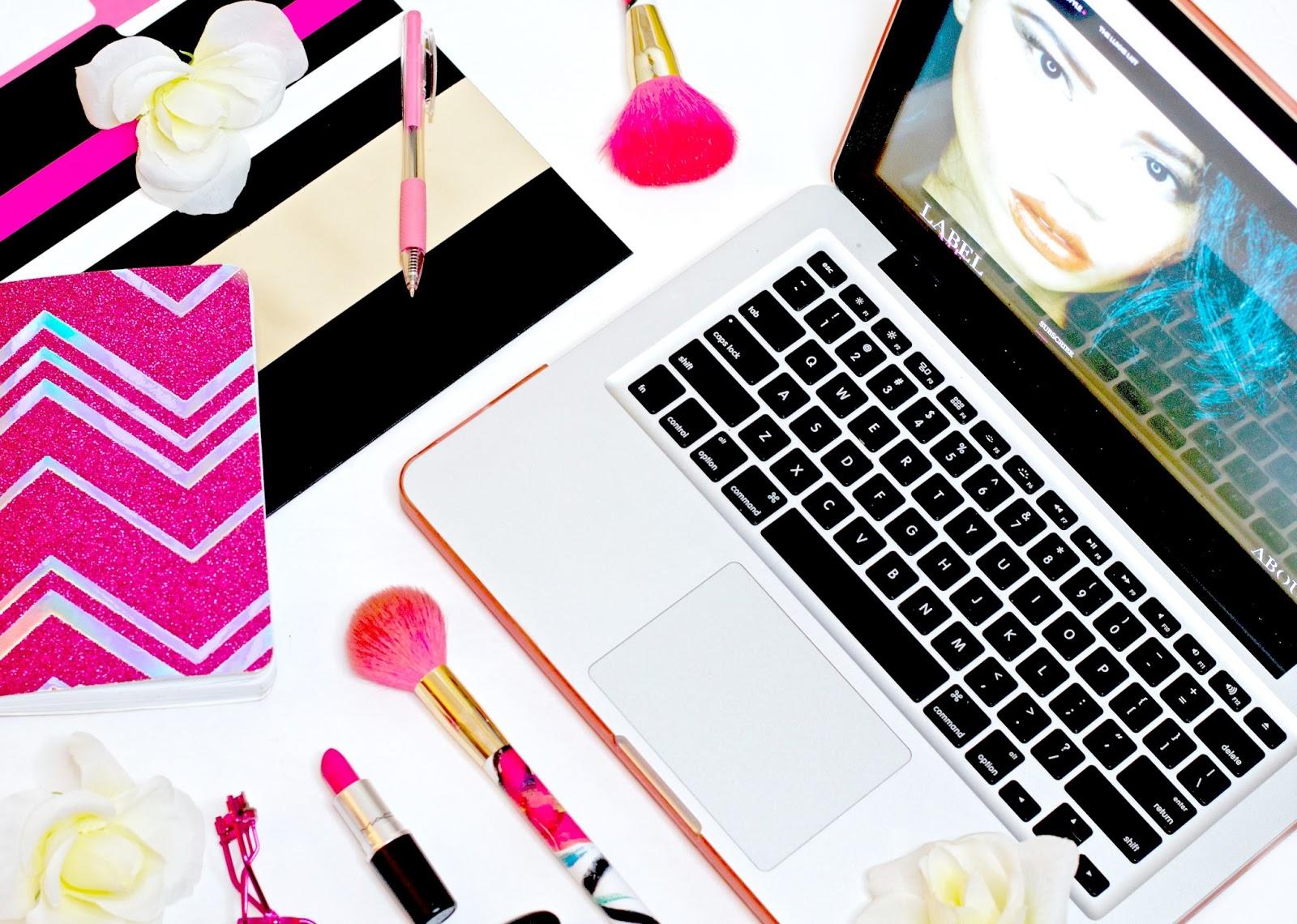 Blogger Flatlay