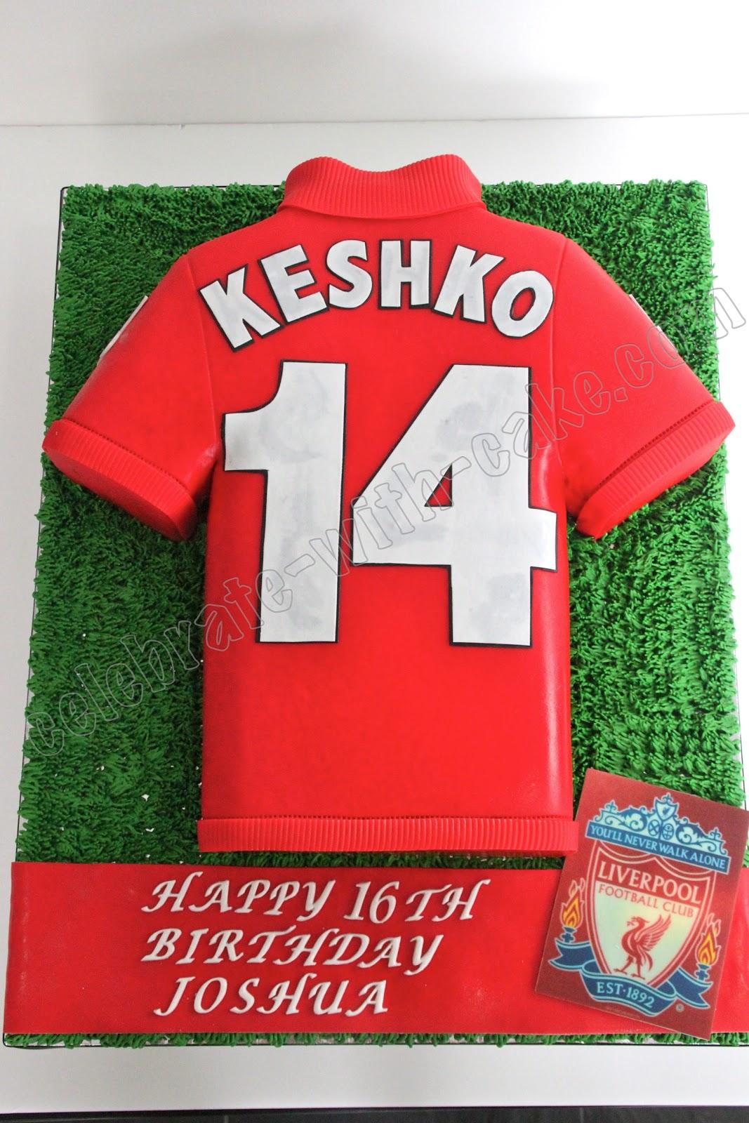 Celebrate with Cake!: Liverpool Jersey Cake