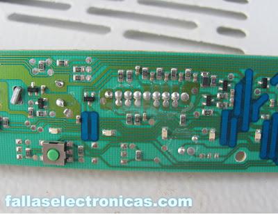 como reparar tarjeta electronica bosch