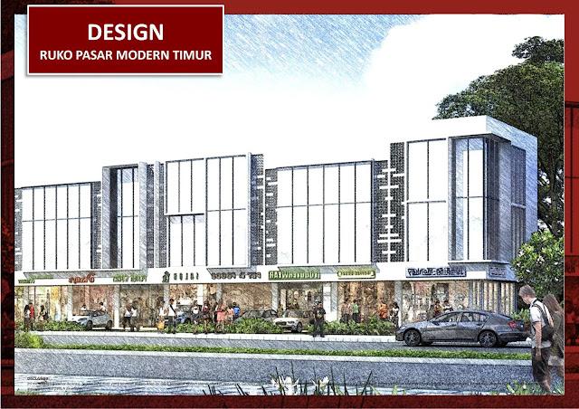 Design Ruko Pasar Modern Timur BSD