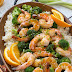 ORANGE SHRIMP AND BROCCOLI