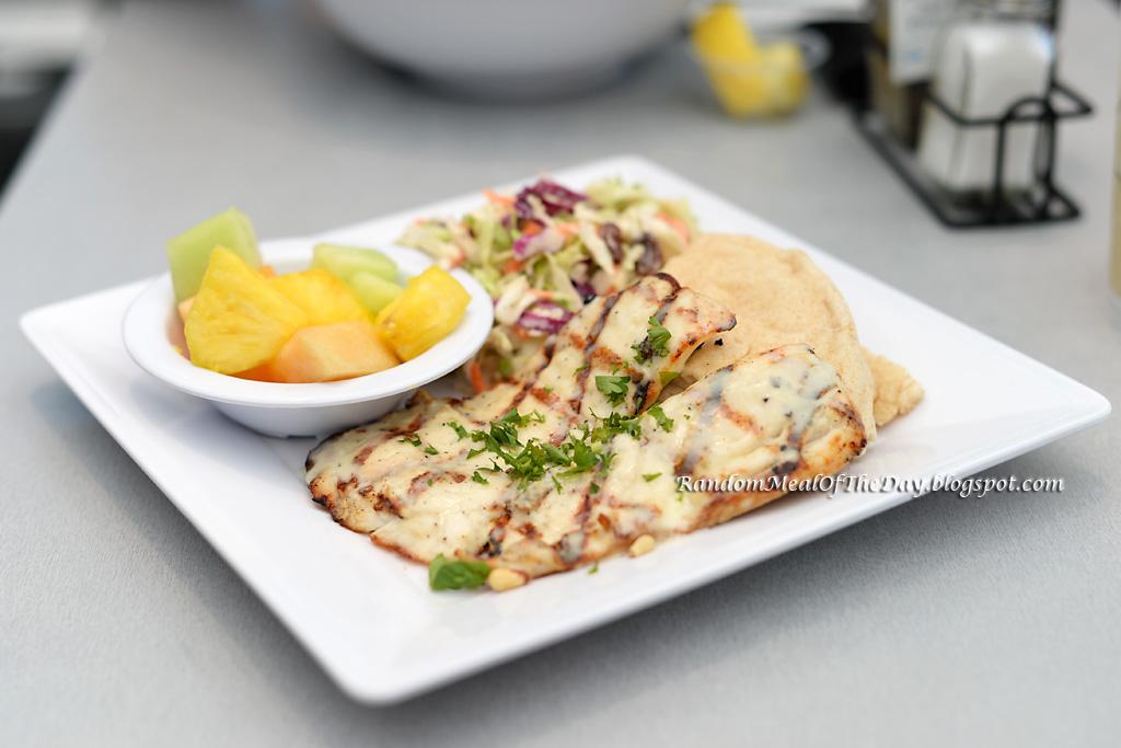 Random meal of the day garlic butter tilapia at malibu for Malibu fish grill