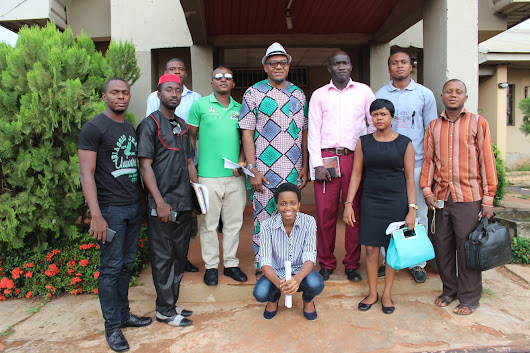 (PHOTOS) Media Icon Advocates Professionalism In Online Information Dissemination