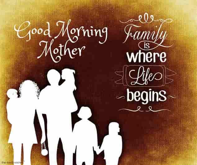 good morning quotes on mother
