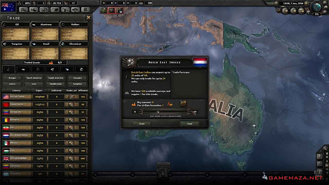 Hearts of Iron IV Together For Victory Gameplay Screenshot 3