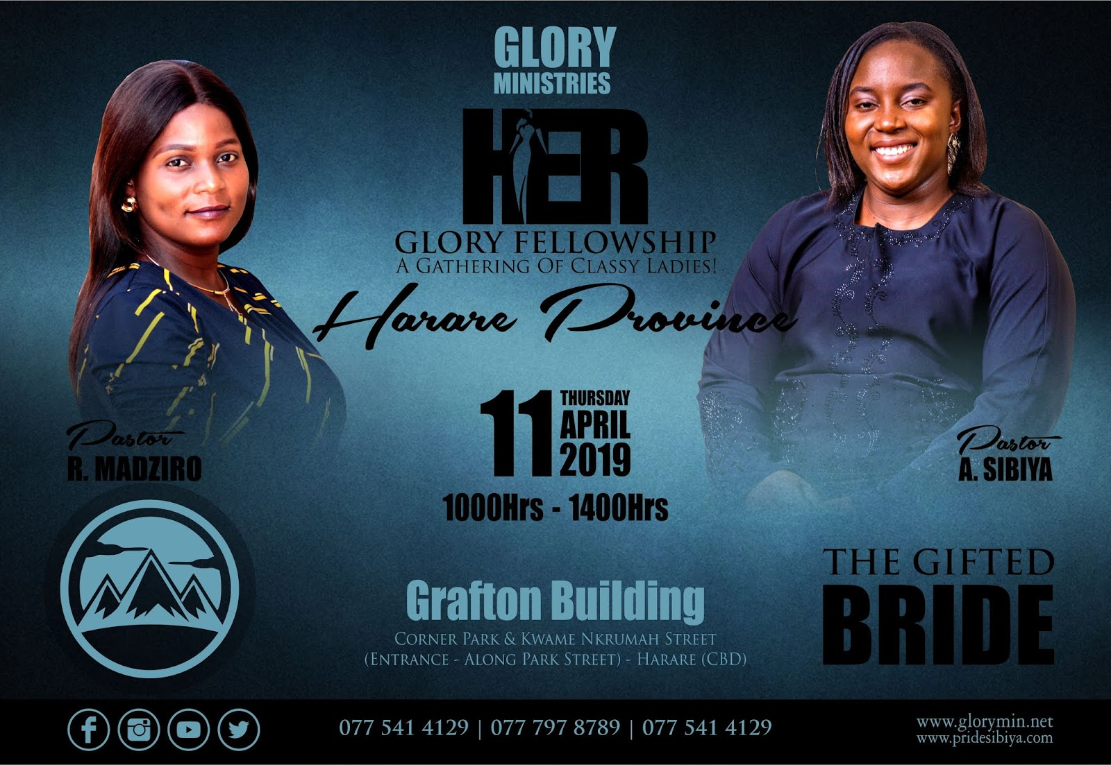 At 2019 Her Glory Women's Fellowship - Harare Province (April 2019)
