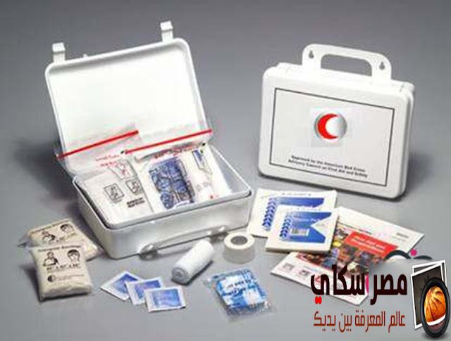 الأسعافات الأولية للجروح والنزف والحروق First aid