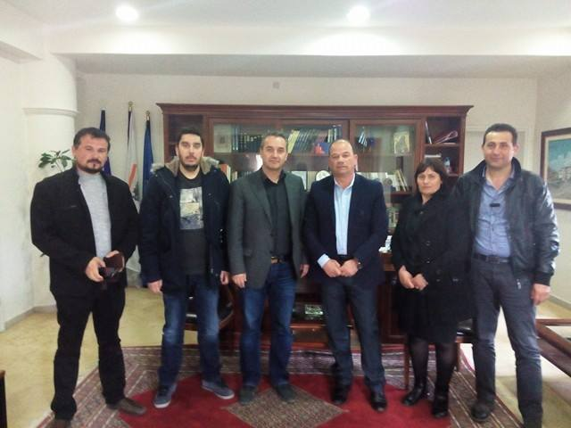 Με τον Δήμαρχο Κονίσπολης συναντήθηκε ο Δήμαρχος Φιλιατών