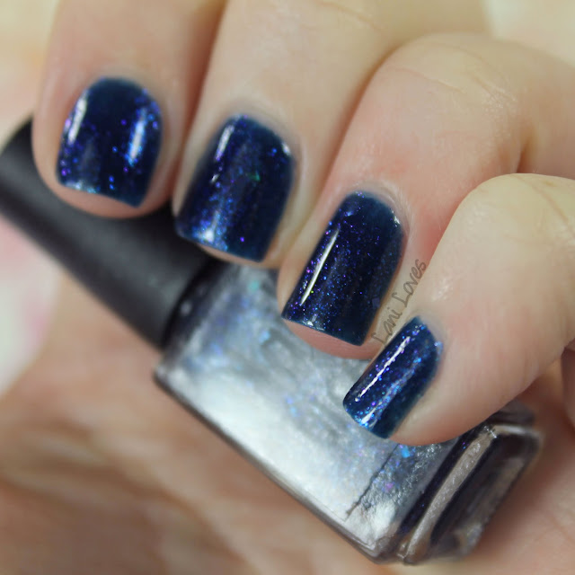 Nail Juice Winter's Night nail polish swatches & review