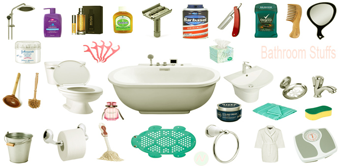 Bathroom Things Names Picture Bathroom Vocabulary