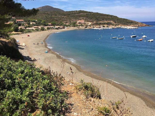 Strand in Galeria Korsika
