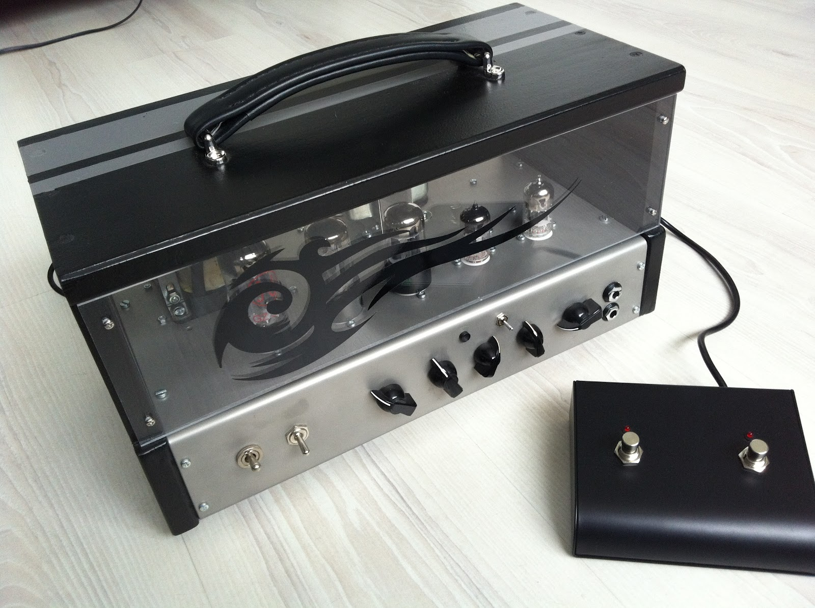 ZABS DD 6BX7 | ZABS Tube amps for guitar