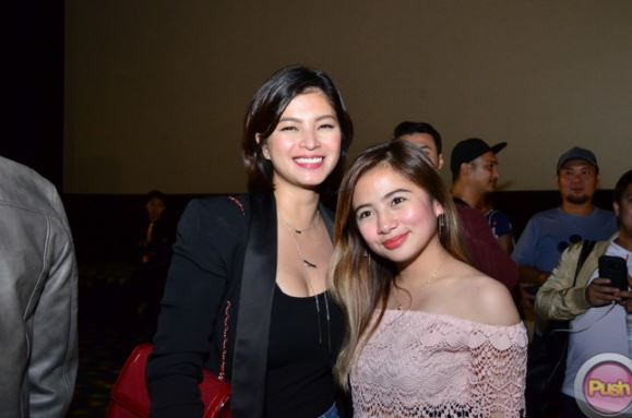 THROWBACK: Ella Cruz Shares A Photo Of Her Together With Miss Angel Locsin At The Set Of Majika