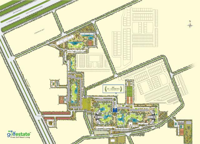 Site Plan - M3M St. Andrews