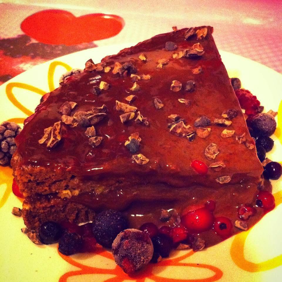 Cocina fcil y saludable Pastel de chocolate y chile