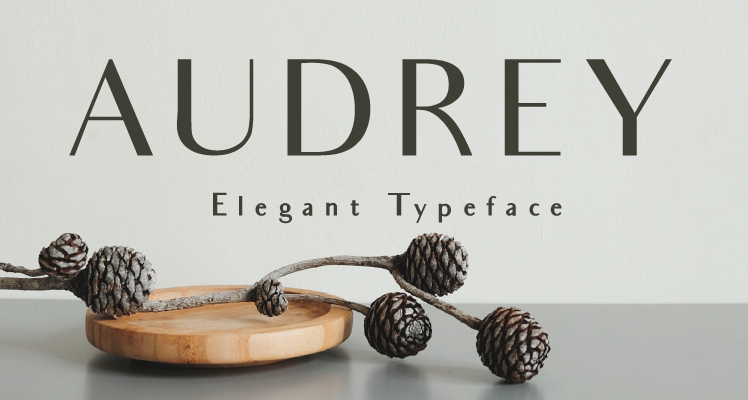 Audrey Free Font Preview