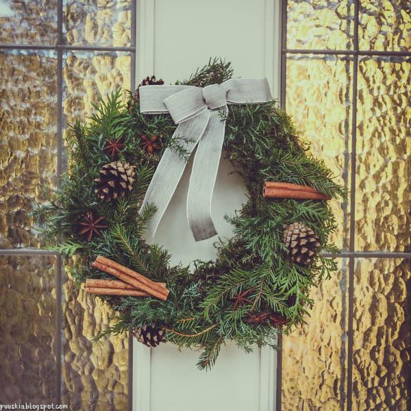ovikranssi joulukranssi