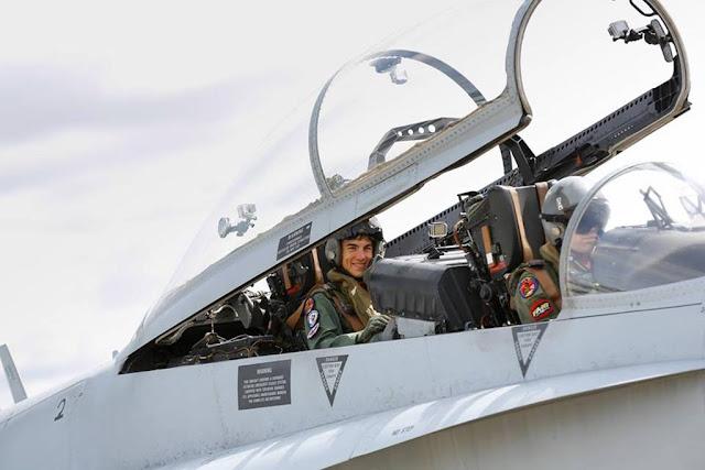 Maverick Vinales Spanish F-18 Hornet