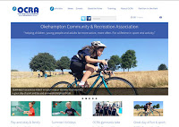 Image: OCRA home page - desktop