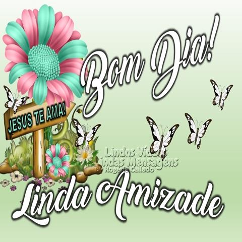 Bom Dia!  Linda Amizade.