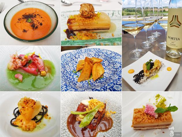 Gastronomia en Bodegas Portia: restaurante Triennia