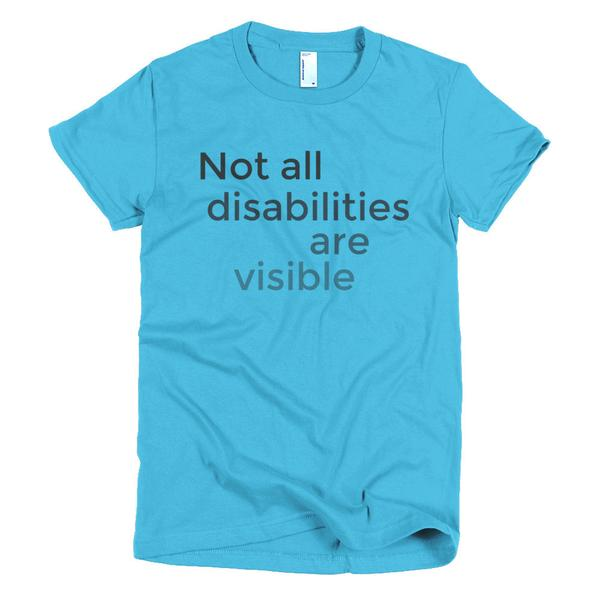 Not all disabilities are visible #chronicillness #ehlersdanlossyndrome #invisibledisabilities